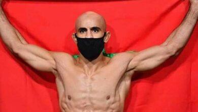 Photo of عثمان زعيتر ينافس الأمريكي خاما على لقب ufc