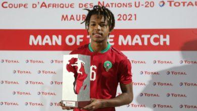 Photo of مباريك أفضل لاعب في مباراة المغرب وغانا