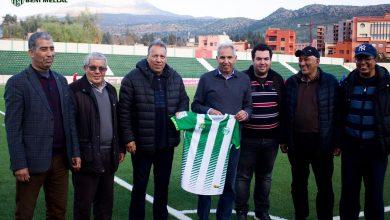 Photo of رجاء بني ملال يقدم مدربه الجديد للاعبين