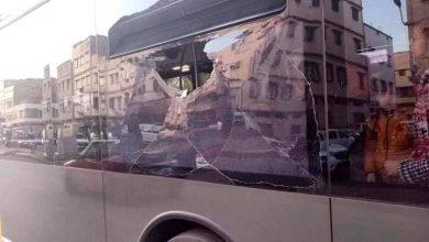 Photo of فيديو..تكسير حافلة الريال بليفربول والشرطة تفتح تحقيقا في الموضوع